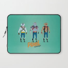 Biker Mice from Mars - Pixel Nostalgia Laptop Sleeve