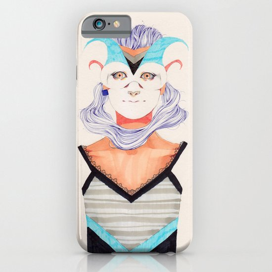 Hair Play 03 iPhone & iPod Case