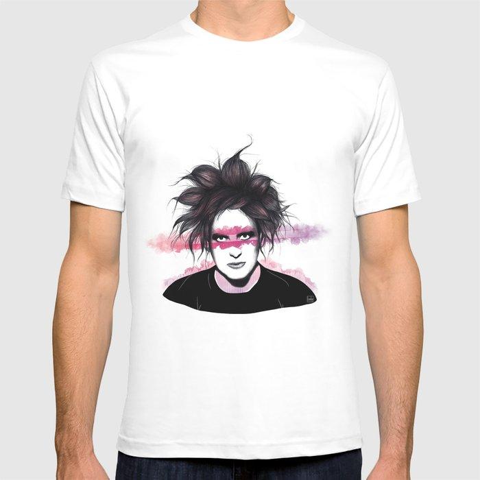 4e82740a6 Robert Smith T-shirt by loobyart | Society6