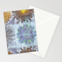 Unsuitably Unveiled Flower  ID:16165-120704-85951 Stationery Cards