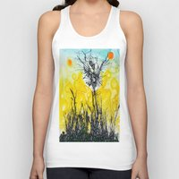tim burton Tank Tops featuring Tim Burton by Jose Luis
