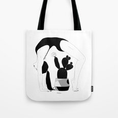 Prickly Gymnastic Tote Bag