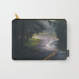 GREY - CONCRETE - ROAD - DAYLIGHT - JUNGLE - NATURE - PHOTOGRAPHY Carry-All Pouch