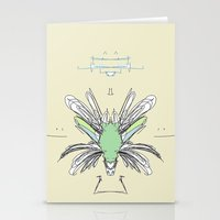 insect Stationery Cards featuring INSECT PROJECT by  ECOLARTE