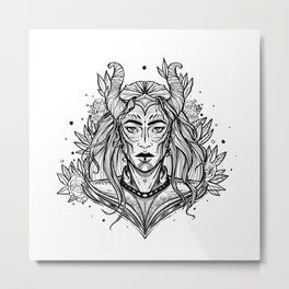 Witch (Daily Sketch Series) Metal Print