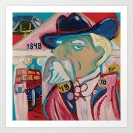 Colonel Reb Art Print