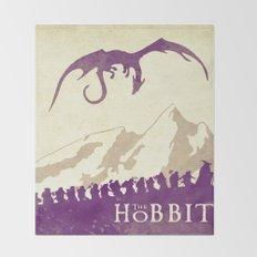 The Hobbit Throw Blanket
