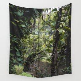 Hidden Jungle River Wall Tapestry