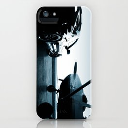 Twilight at the Hangar iPhone Case