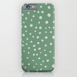 Dotted Lush iPhone Case
