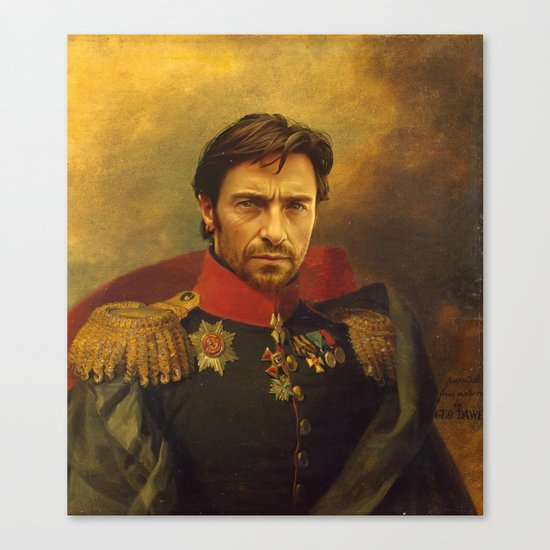 Hugh Jackman - replaceface Canvas Print