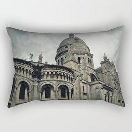 Sacre Coeur Cathedral Rectangular Pillow