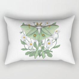 Metamorphosis - Luna Moth Rectangular Pillow