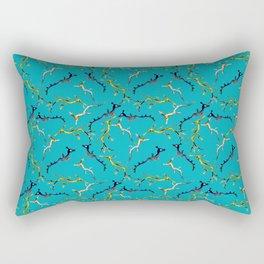Baby Sea Dragons (greeny-blue) Rectangular Pillow