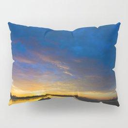 Sunset Blues Pillow Sham