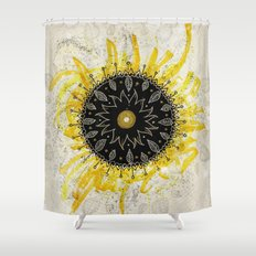 Total Solar Eclipse Shower Curtain