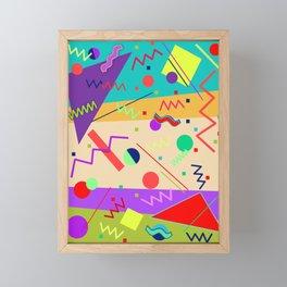 Memphis #56 Framed Mini Art Print