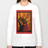 propaganda Long Sleeve T-shirts featuring Propaganda I by blurdvizionz