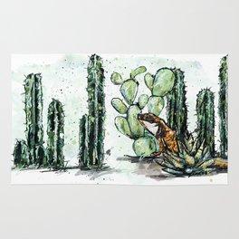 Cactus Horizontal Rug