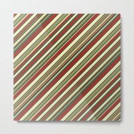 Just Stripes 4 Metal Print