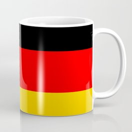 Black Red and Yellow German Flag Coffee Mug