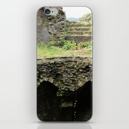Caerphilly Castle Ruins iPhone Skin