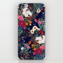 Midnight Garden VI iPhone Skin