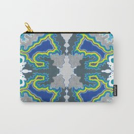Glacial Kaleidoscope Carry-All Pouch