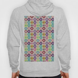 Circle grid pastel pattern home decor pop art Hoody