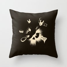 The Harder They Fall Throw Pillow