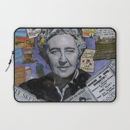 Agatha Christie's Disappearance Laptop Sleeve