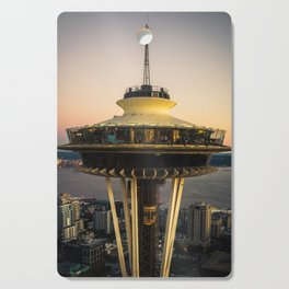 Space Needle (close-up) Cutting Board