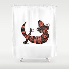 Gila Monster Shower Curtain