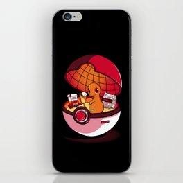 Red Pokehouse  iPhone Skin