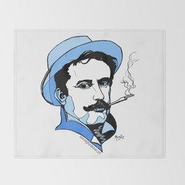 Giacomo Puccini Italian Composer Throw Blanket