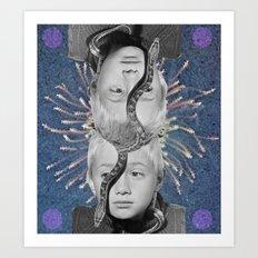 Twinz Art Print