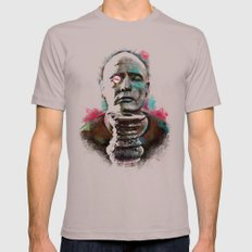 Marlon Brando under brushes effects Mens Fitted Tee Cinder SMALL