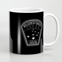 Patience Is Key - Black & White Coffee Mug