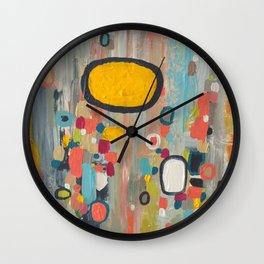 samedi matin Wall Clock