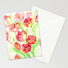 Mothers Day Tulips Stationery Cards
