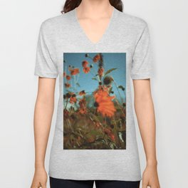 Autumn Waving with the Breeze Unisex V-Neck