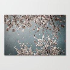 moody spring Canvas Print