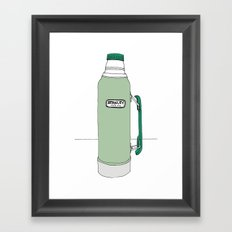 Classic Stanley Thermos Framed Art Print