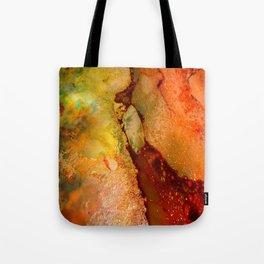 Burning Earth Series Tote Bag