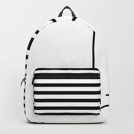 Line face Backpack