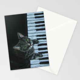 Catgang Meowzart Stationery Cards