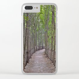 The Long And Winding Road Clear iPhone Case