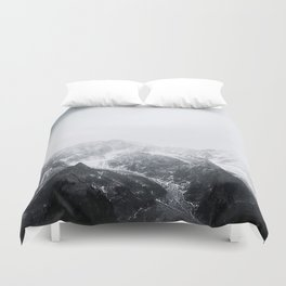 Morning in the Mountains - Nature Photography Duvet Cover