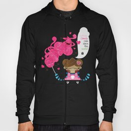 Cotton Candy can save the world!!! Hoody