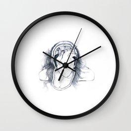 Cranial beats Wall Clock